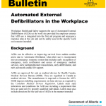 Automated External Defibrillators in the Workplace PDF