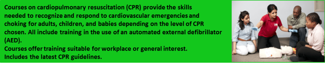 CPR/AED - First Aid Instructor Teaching