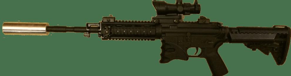 Prototype de silencieux pour Gun Airsoft
