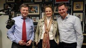 Foto Jan Peter Balkenende, Mildred Hofkes en Glenn van der Burg