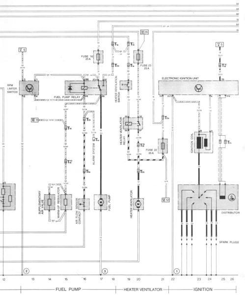 small resolution of 1976 porsche wiring diagram wiring libraryporsche 911 3 2 fuse box electrical wiring diagrams 1976 porsche