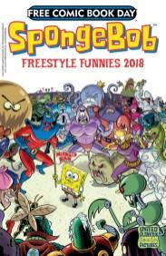 FCBD 2018 SPONGEBOB FREESTYLE FUNNIES