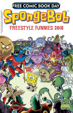 FCBD 2018 SPONGEBOB FREESTYLE FUNNIES