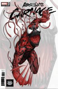 LCSD 2019 ABSOLUTE CARNAGE #5 (OF 5) LCSD ARTIST VARIANTMarvelVenom and Carnage – To the Death!40 PGS./RATED T+DONNY CATESRYAN STEGMAN