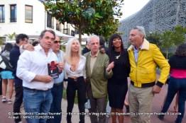 Hervé POUCHOL, Sylvain COLLARO, Véronique KOCH, Jacky, BB Ange et Esteban de la VEGA