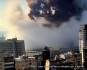 L'explosion dans un entrepôt au port à Beyrouth 11
