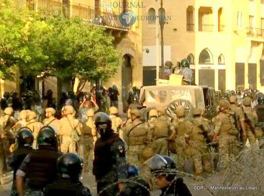 Manifestation au liban 11
