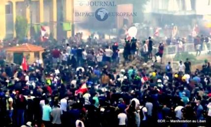 Manifestation au liban 14
