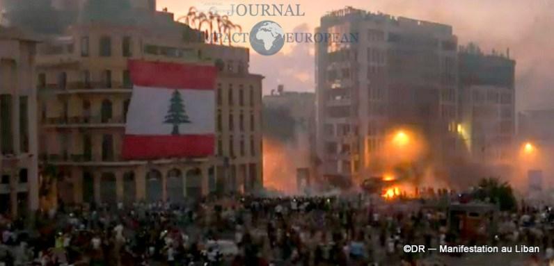 Manifestation au liban 16