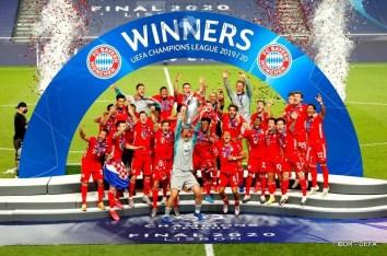 Six-time winners FC Bayern München2