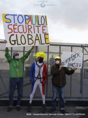rassemblement sécurité globale 40