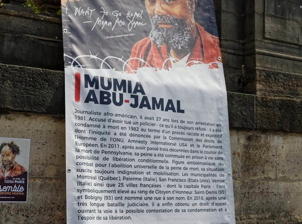 Journée internationale de mobilisation pour libérer Mumia