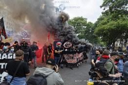 manif antifasciste 45