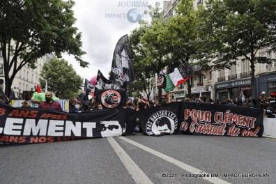 manif antifasciste 56