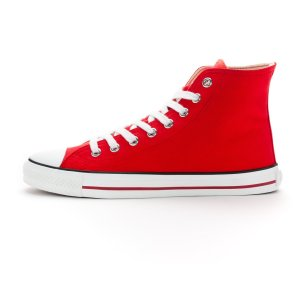 White Cap Hi Cut Classic Cranberry Red | Just White