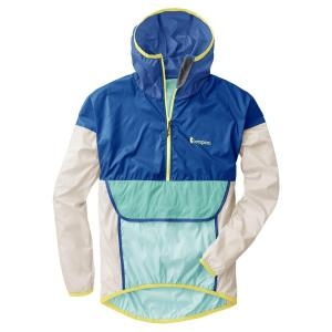 Teca Windbreaker (Half-Zip) Unisex – Blue Crush WM/MS