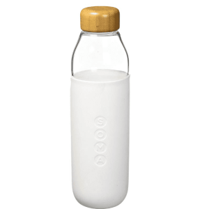 Soma Glass Bottle – White