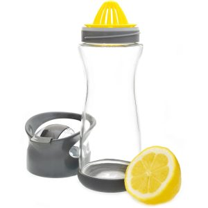 Lemon Reamer Glass Bottle 20 oz