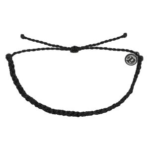 Mini Braided Solid Bracelet BLCK