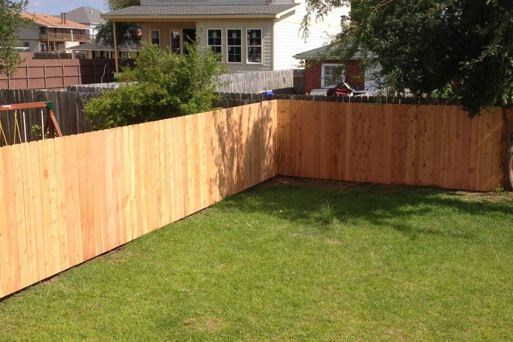 wood fences impact fence