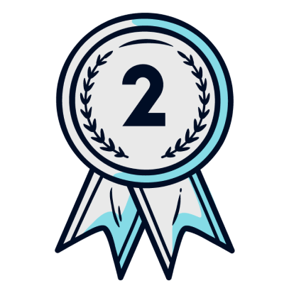2nd place tag