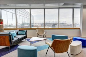 Modern chairs in a meeting oom