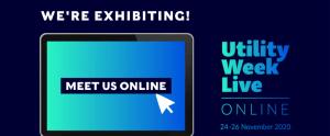 Utility Week Live 2020 banner - Meet us online