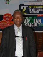 The lead speaker, Prof. Festus Dairo