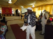 Clench, 'Ma Se Binu Si Mi crooner also on stage at the launching of Southwest Reporters