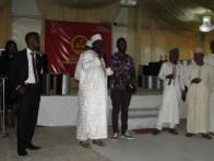 Sheikh Fagba itroducing spiritual angle to the event