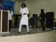 Faboo, the Ikorodu boy performing at the occassion