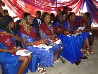 The UEC graduating Clas of 2016