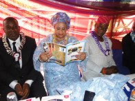 Princess Ogunsanya with other guests at the event