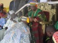 Hon. Agunbiade being conferred with the Opomulero title