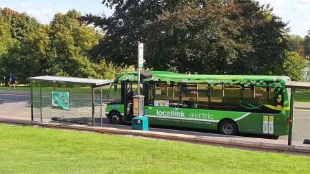 L12 Bus at the University Park East Drive stop