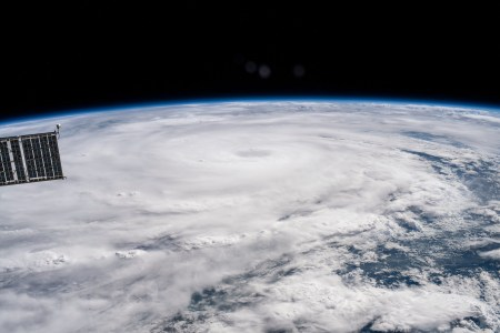 Image of Hurricane Hanna as seen from the International Space Station