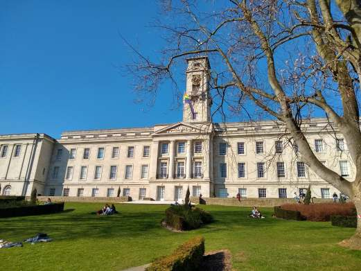 A photo of University of Nottingham Trent building