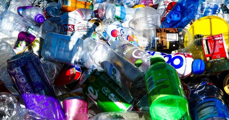 Featured Image of discarded plastic bottles piled up