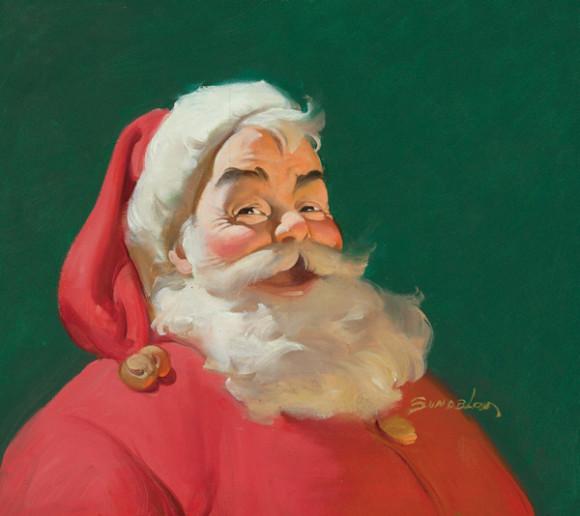 En 1863 el dibujante alemán Thomas Nast diseñó el personaje de Papá Noel con la contextura actual. En el siglo XX por encargo de Coca Cola el pintor Haddon Sundblom crea la versión que conocemos actualmente.