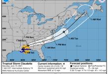 tormenta tropical claudette
