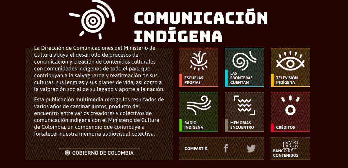 Comunicación indígena-Ministerio de Cultura