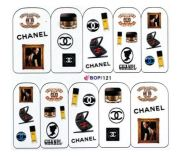 chanel fashion water decals impact