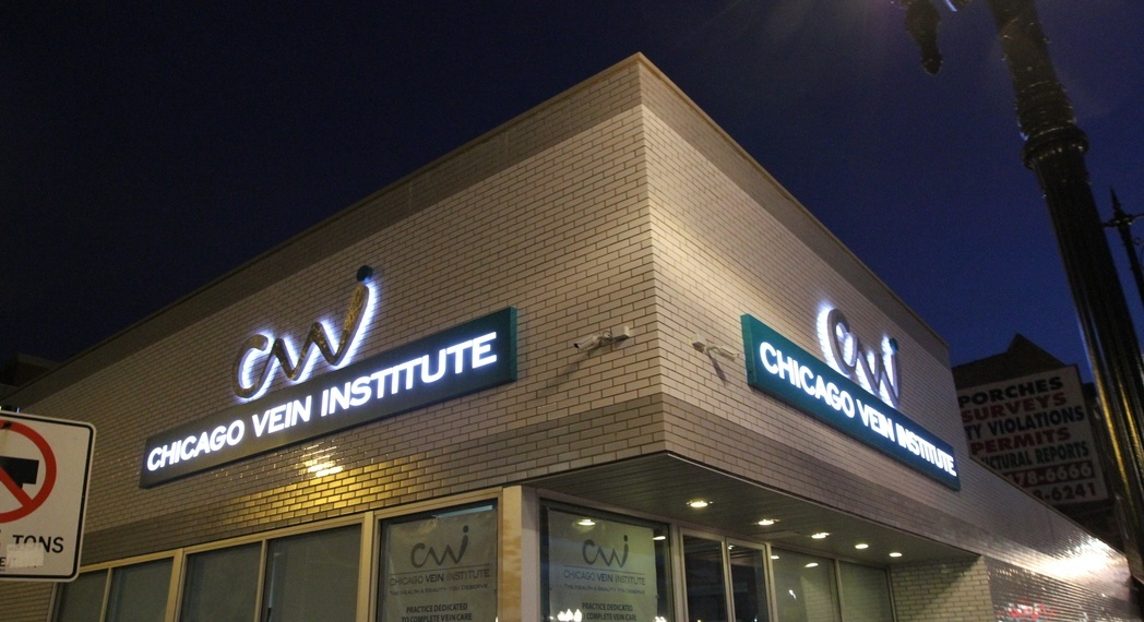 exterior outdoor lighted signs impact