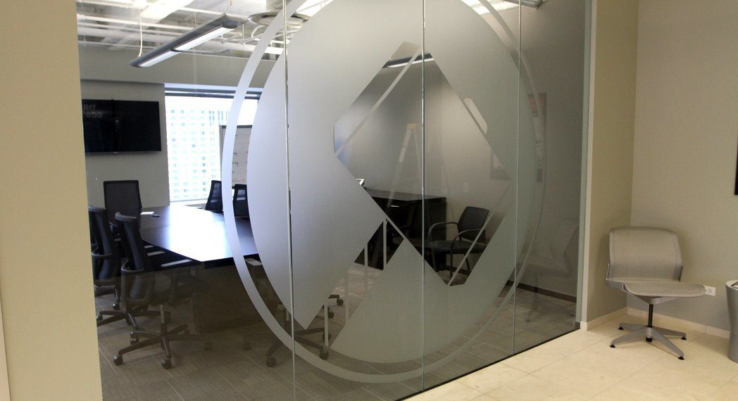 Frosted Glass Vinyl Graphics