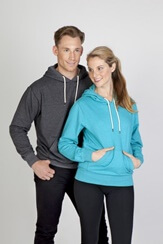 Impact Teamwear - Greatness Heather Brushed Fleece Hoodie
