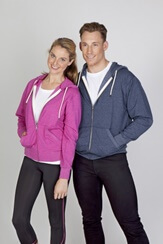 Impact Teamwear - Greatness Heather Brushed Fleece Zip Hoodie