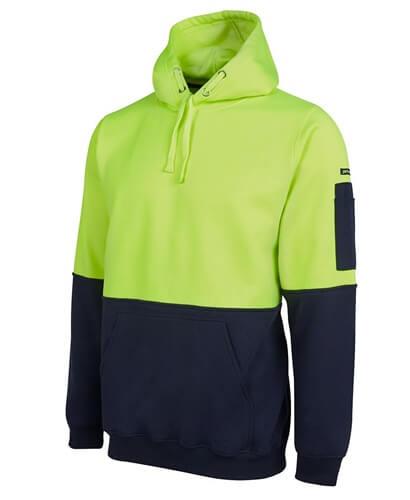 Impact Teamwear - Hi Vis Pull Over Hoodie