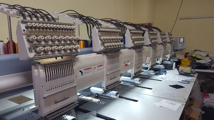 Impact Teamwear - Embroidery Machine - 6 Head