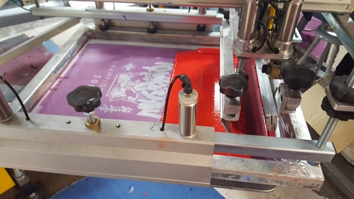 Impact Teamwear - Screen Printing Machine 1