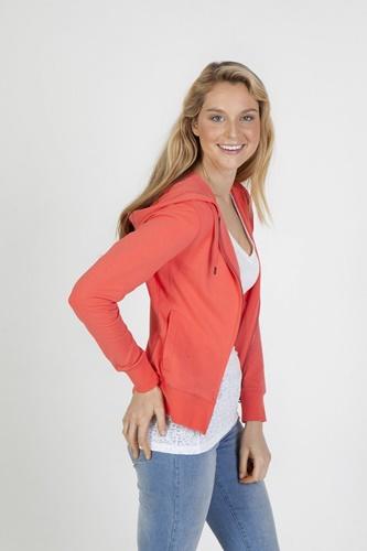 Impact Teamwear Ballarat - Ladies Spandex Zip Hoodie